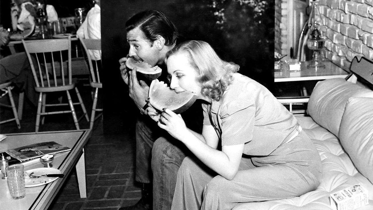 Carole Lombard et Clark Gable, en 1938. Trois ans de vie commune ont suffi à construire la légende du couple idéal.