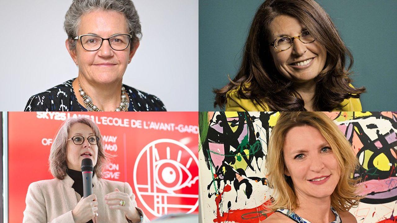 Florence Dufour (Ecole de biologie industrielle), Anne Lalou (Web School Factory), Alice Guilhon (Skema Business School), Sophie Viger (école 42).