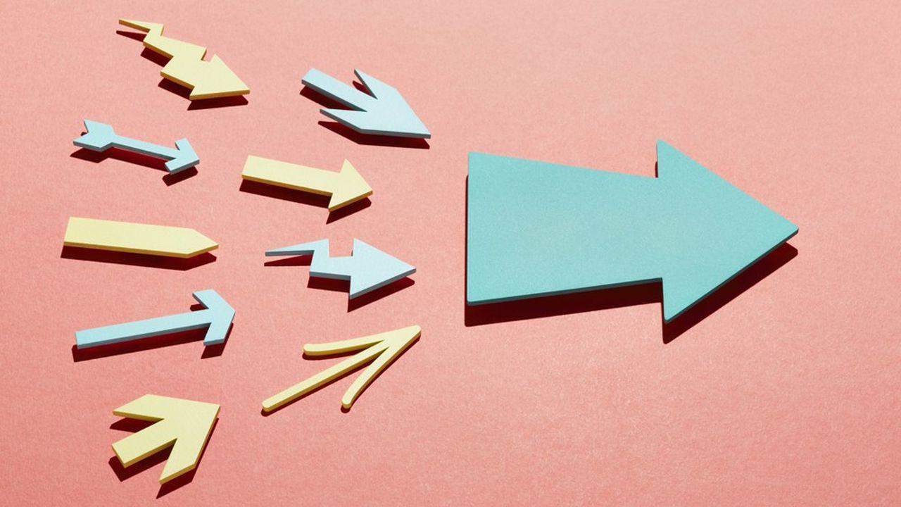 L'évolution du collectif repose sur la somme des comportements individuels.