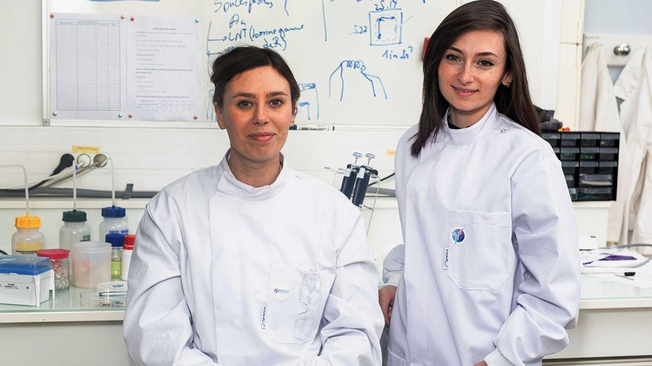 Anna Shirinskaya etJoanne Kanaan ont abandonné leur carrière dans la recherche sans regret pour se lancer dans l'entrepreneuriat.