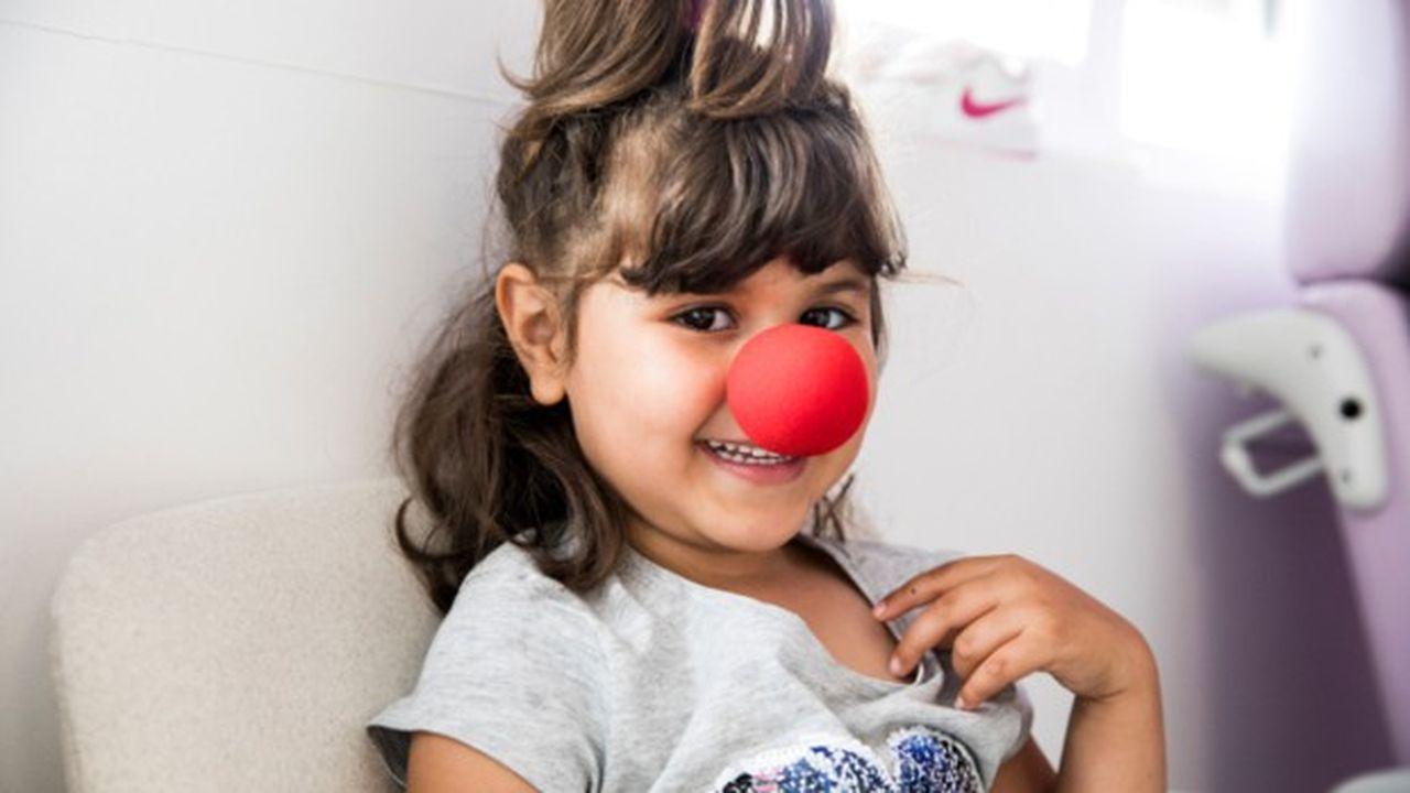 Le Rire Médecin est intervenu l'an dernier auprès de 83.000 enfants.