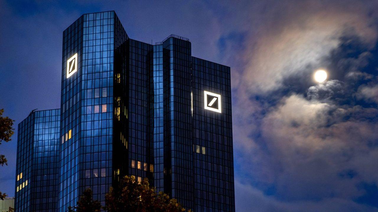 Deutsche Bank a enregistré en 2020 son premier exercice positif en six ans, grâce à sa banque d'investissements.