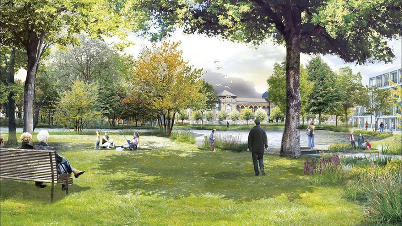 Projet du Parc Princesse, un parc boisé de 5 hectares