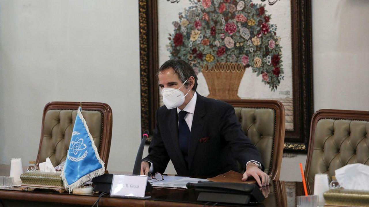 Le directeur général de l'Agence internationale de l'énergie atomique (AIEA), Rafael Grossi, a rencontré samedi à Téhéran son homologue de l'Organisation iranienne de l'énergie atomique, Ali-Akbar Salehi.