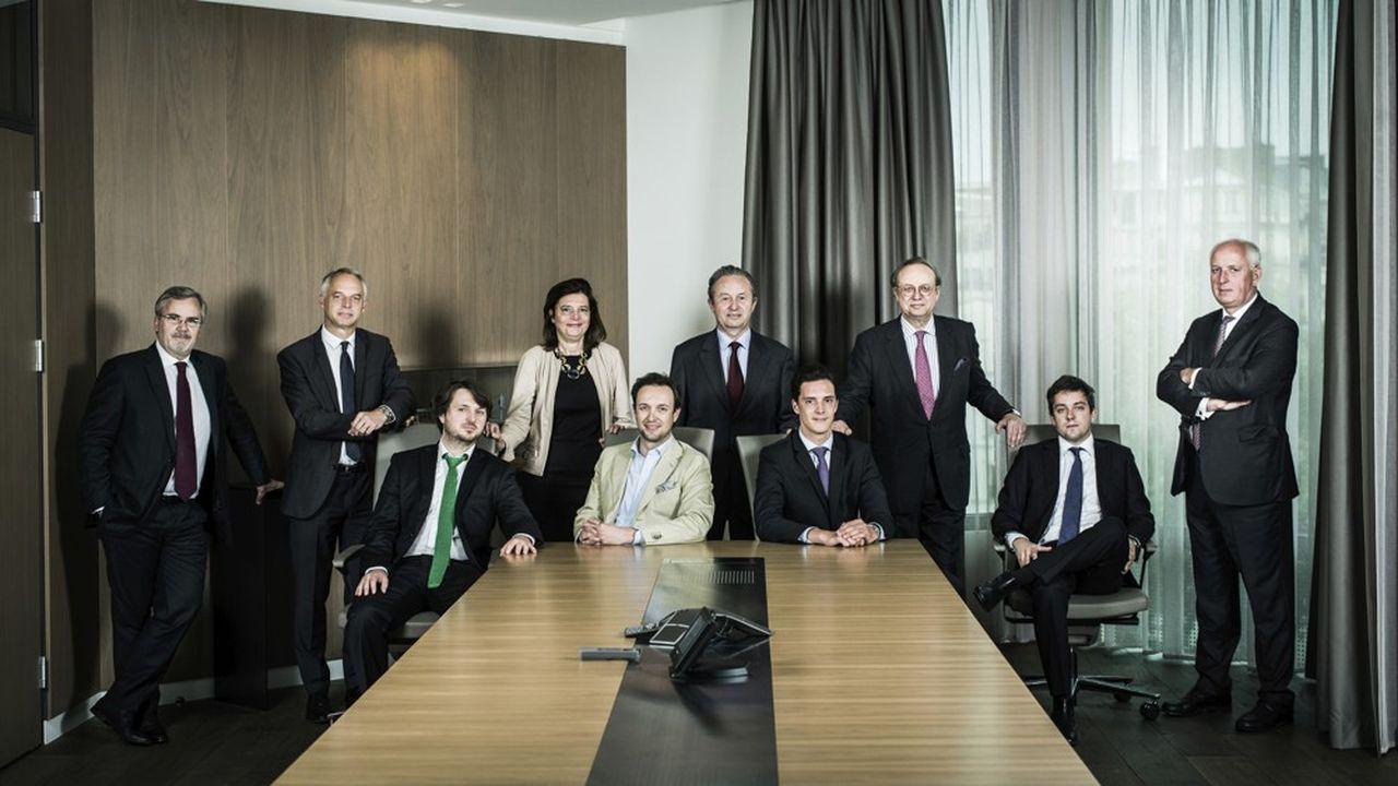 En 2016, «Les Echos» avaient réuni la famille Peugeot pour une photo historique au siège de FFP.