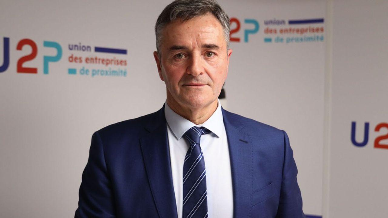 Maçon de profession, Dominique Métayer a pris la présidence de l'U2P le 20janvier 2021 pour quatre ans.