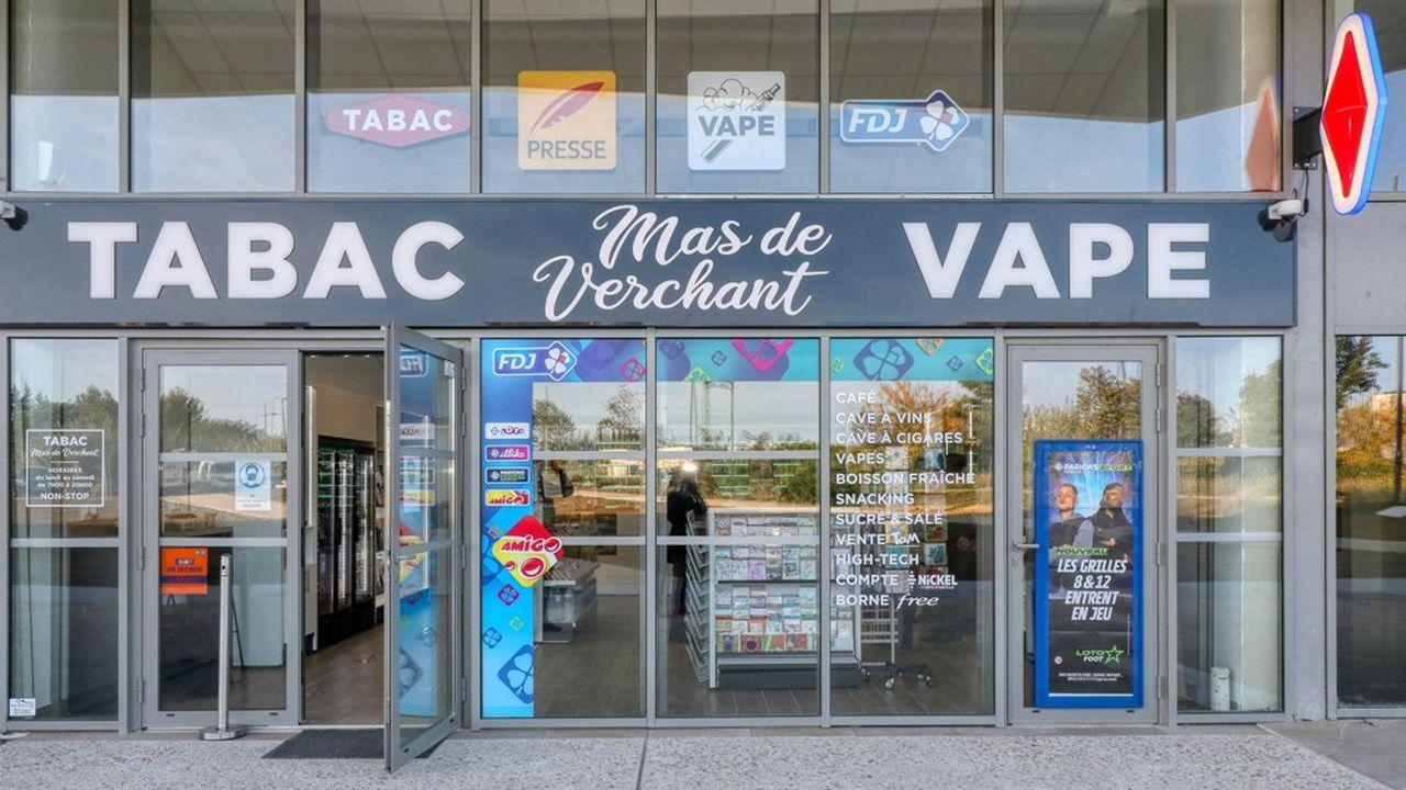 Comme ici à Montpellier, de plus en plus de bureaux de tabac développent et améliorent les offres du réseau.