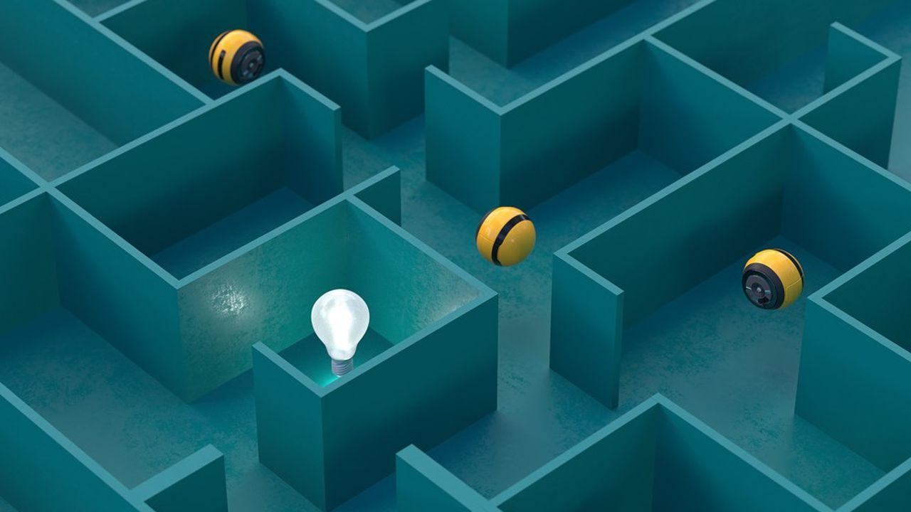 L'idée est de développer des machines qui s'inspirent de la façon dont les humains apprennent à explorer le monde.