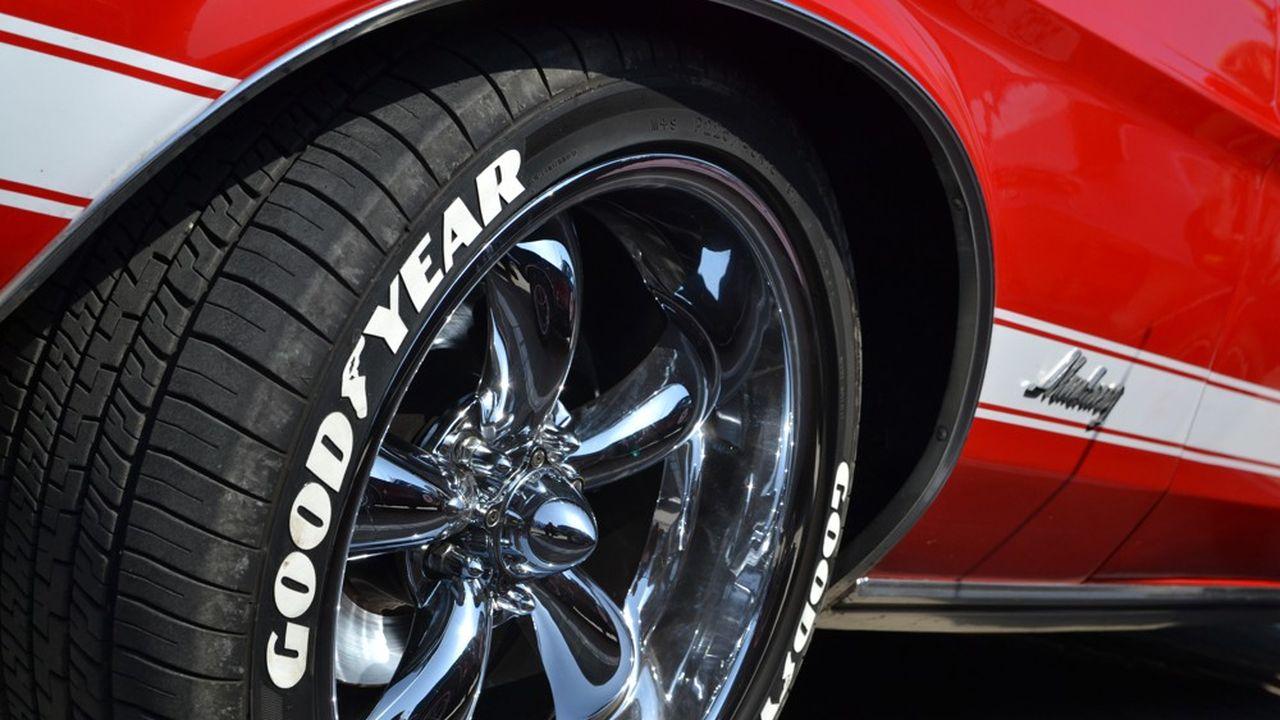 Goodyear a fini fort l'année avec un retour aux bénéfices au quatrième trimestre du dernier exercice.