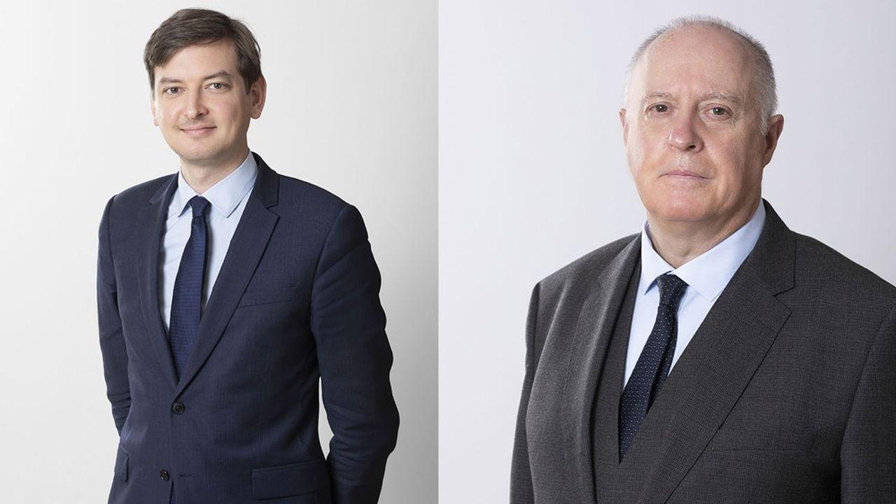 Adrien Couret et Pascal Michard veulent faire d'Améa Groupe l'un des premiers acteurs français de l'assurance.