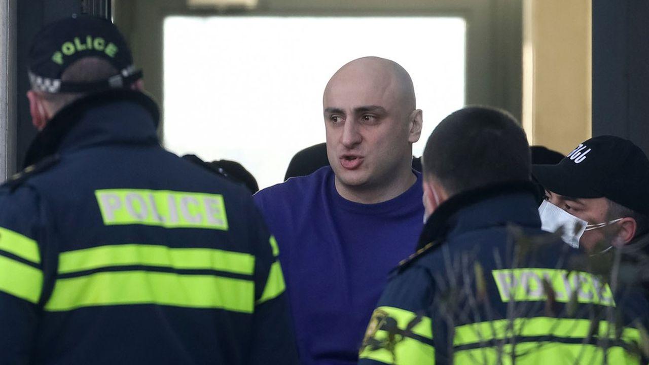 Un des leaders de l'opposition géorgienne, Nika Melia, a été arrêté mardi matin à Tbilissi.