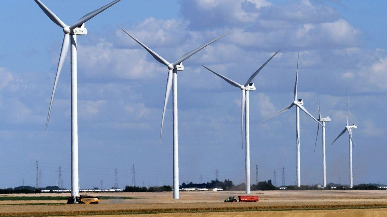 Le parc d'énergies renouvelables a augmenté de plus de 2 gigawatts en 2020, dont 1,1 GW d'éolien et 0,8 GW de solaire.