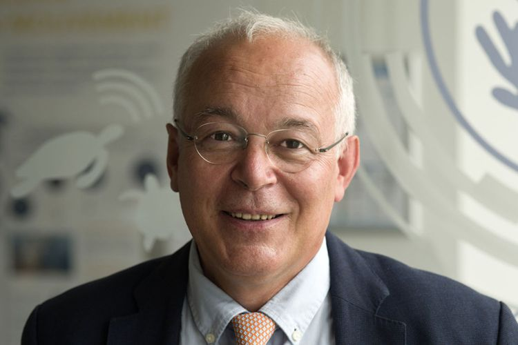François Houllier, le président de l'Ifremer qui vient d'être reconduit pour un mandat de cinq ans.