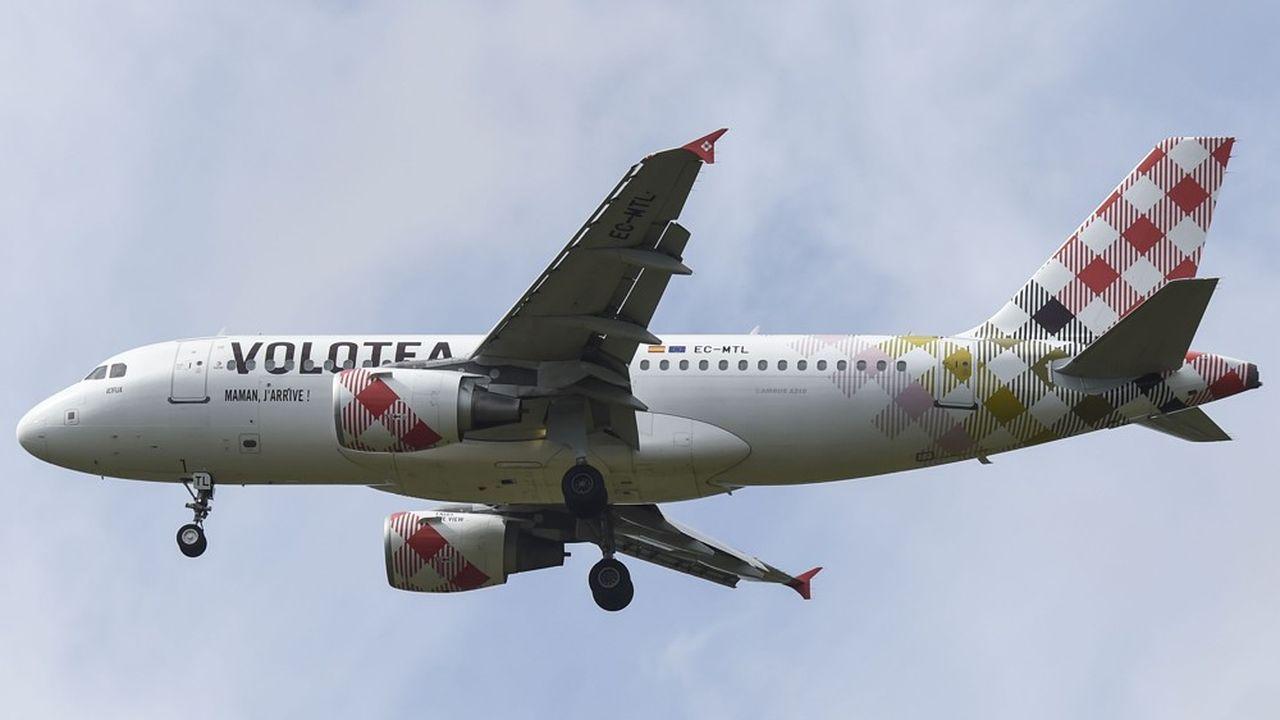 Volotea est la première compagnie de l'aéroport.