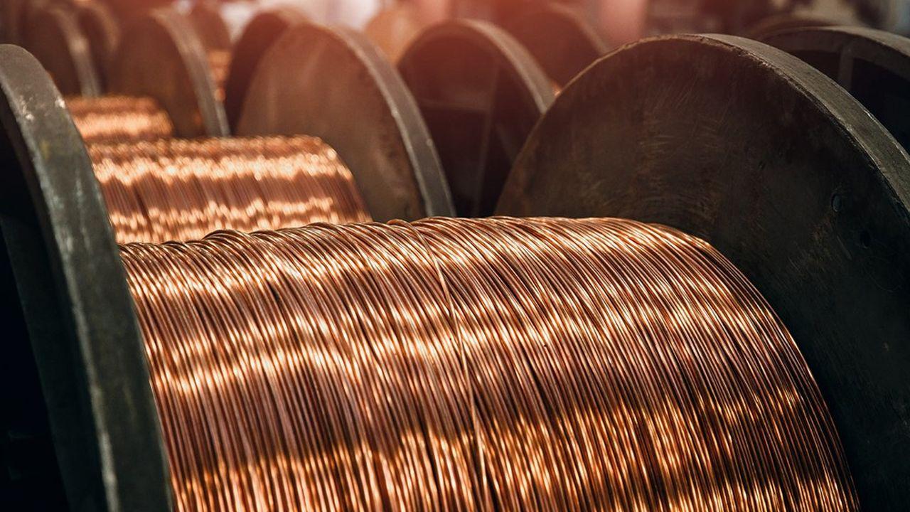 Le cuivre est le métal indispensable de la transition énergétique.