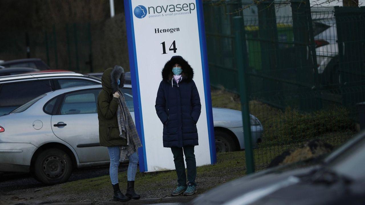 L'usine de Novasep, à Seneffe, en Belgique, a été au coeur d'une querelle entre la Commission européenne et l'entreprise AstraZeneca sur les volumes de vaccins promis.
