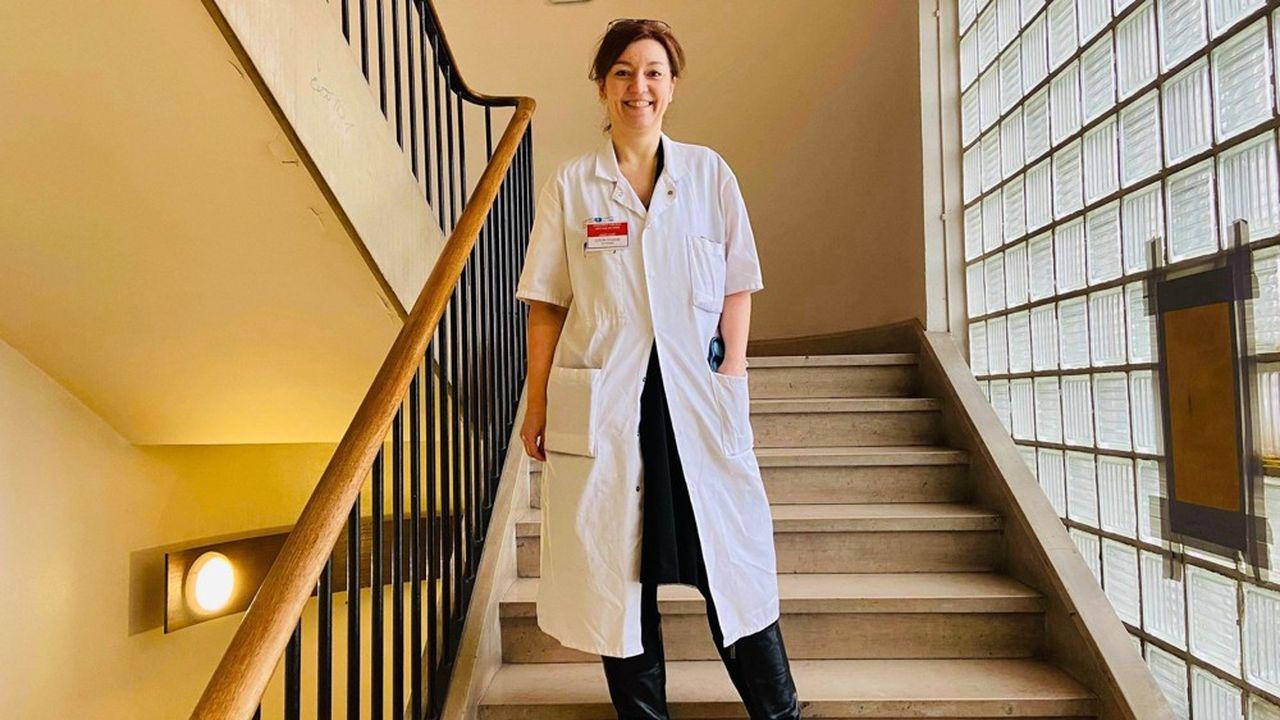 Christelle Colin a exercé seize ans dans la finance, avant de se reconvertir en médecine.
