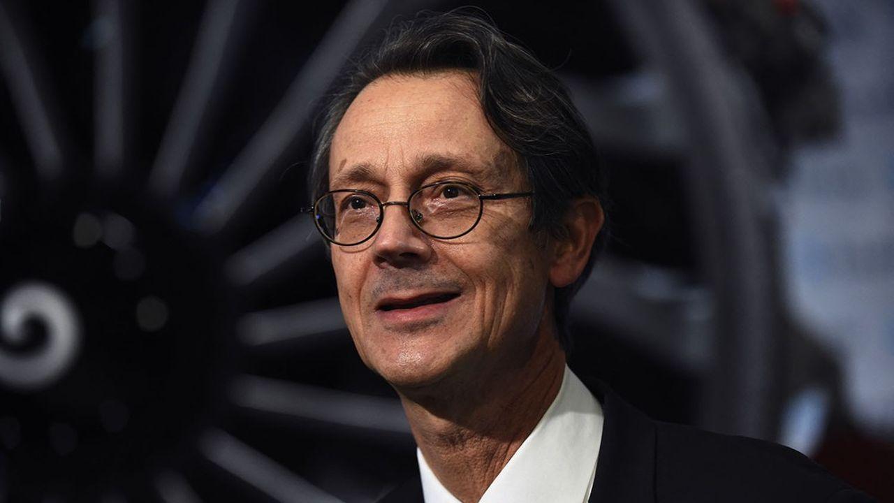 Le nouveau patron de Safran, Oliver Andriès, a succédé à Philippe Petitcolin en janvier.