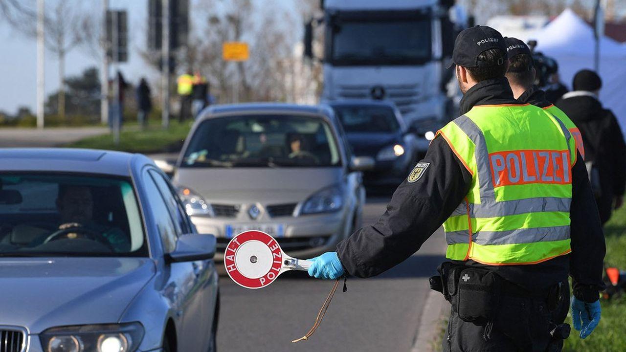 EN DIRECT - Covid : renforcement des mesures à la frontière franco-allemande en Moselle - Les Échos