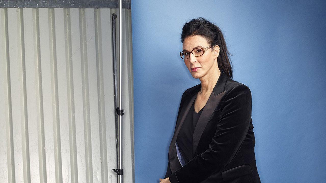 Sue Y. Nabi, la nouvelle directrice générale de Coty, photographiée à Paris le 26 octobre 2020.