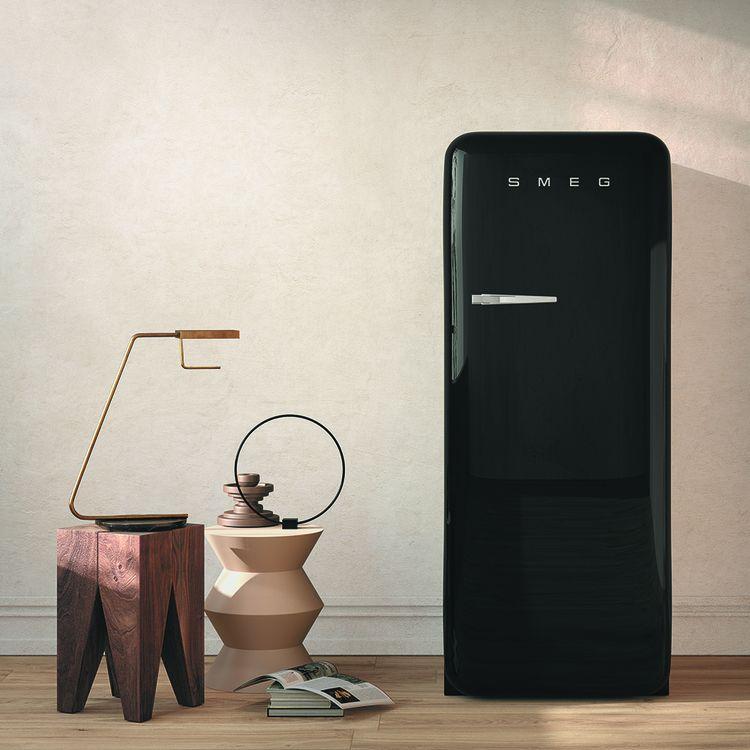 Réfrigérateur FAB28 de SMEG, des modèles ayant vocation «à être admirés» selon la marque italienne.