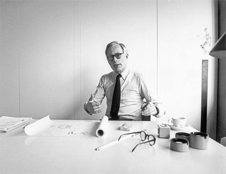 Dieter Rams (ici dans les années 1970) a dirigé le bureau de design de Braun de 1961 à 1995.