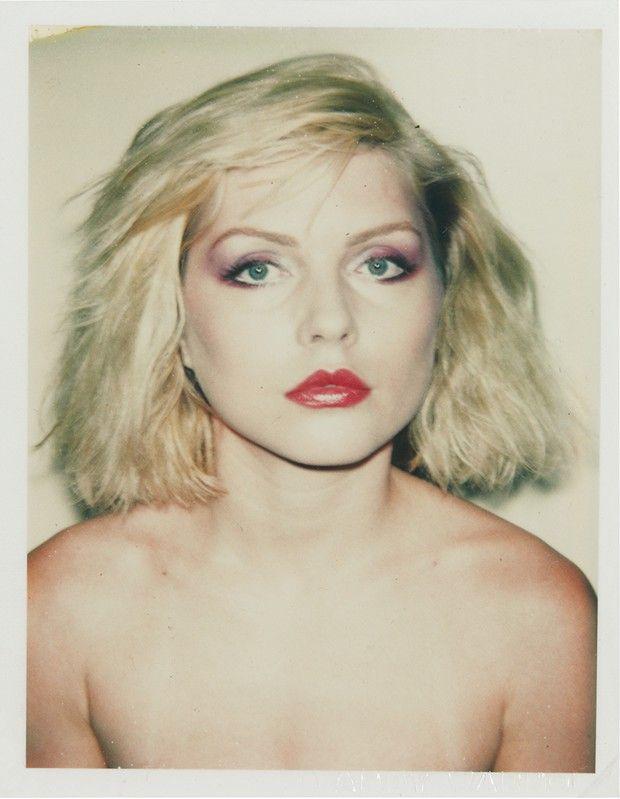 Debbie Harry, en 1980 par Andy Warhol. Une des sources d'inspirations d'Isabel Marant pour ce défilé.