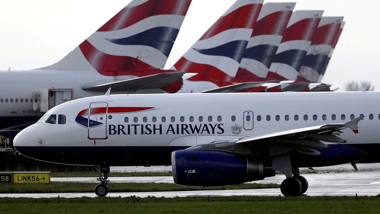 IAG fait pire qu'Air France-KLM avec une perte record de 6,9 milliards pour 2020 - Les Échos