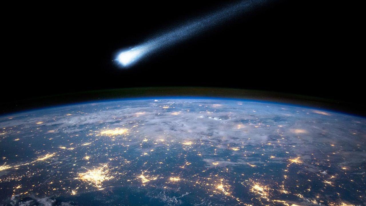 C'est une comète qui aurait eu raison des dinosaures - Les Échos