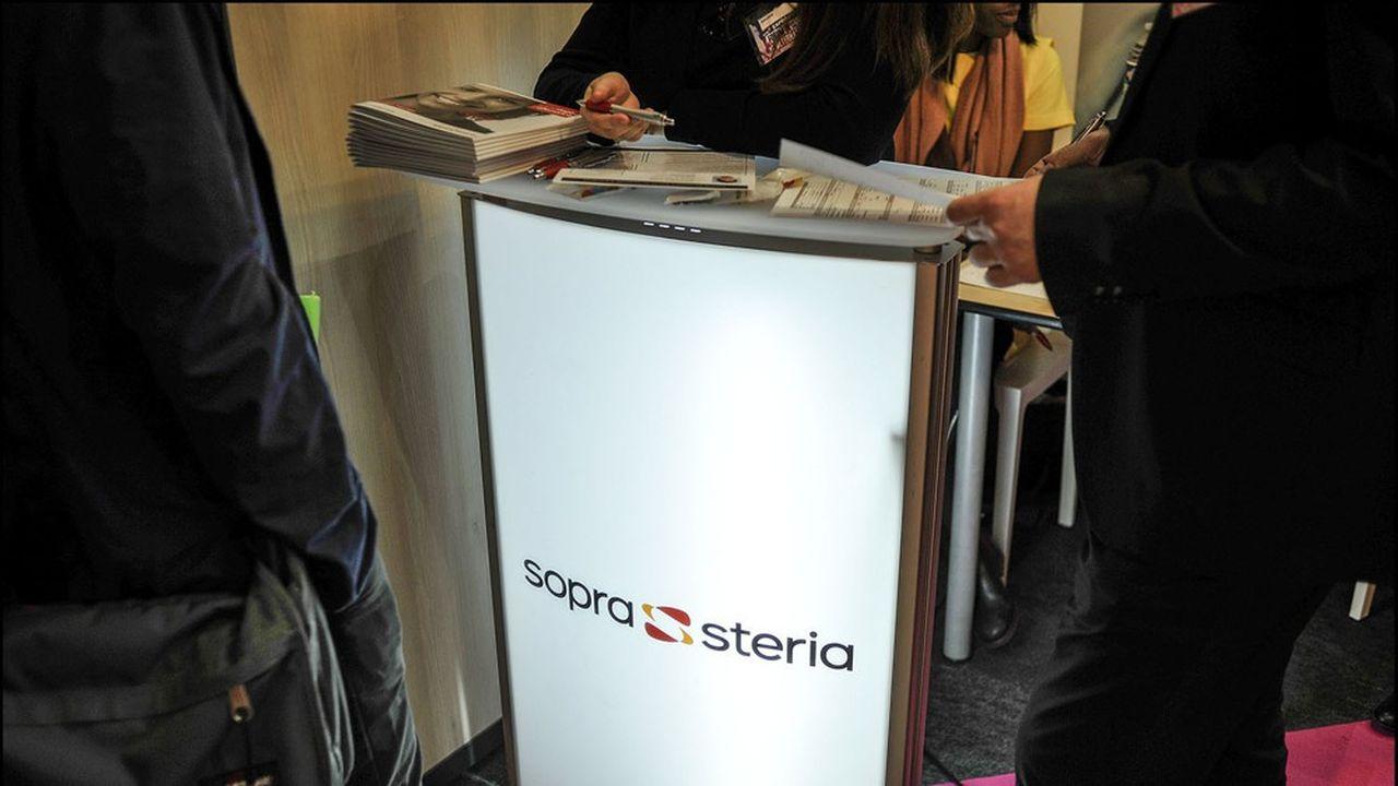 Après avoir ajusté ses coûts (notamment en diminuant de 11% son recours chez ses clients à des sous-traitants en complément de ses ingénieurs), Sopra-Steria constate que les affaires reprennent.
