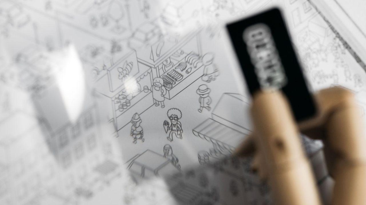 «MicroMacro Crime City», jeu coopératif d'enquête, a reçu l'As d'or-Jeu de l'année 2021.