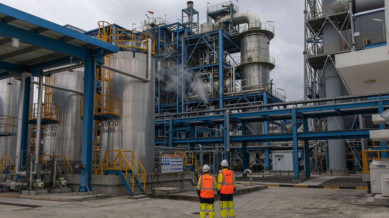 Suez gère notamment les effluents de SCIP, le parc industriel de Shanghai regroupant l'industrie chimique locale.