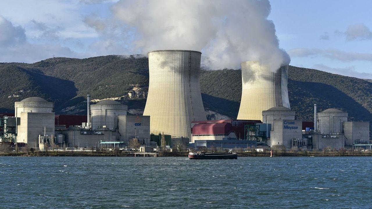 Centrale nucléaire EDF de Cruas-Meysse.