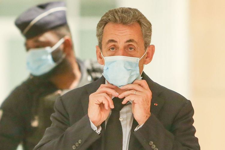Nicolas Sarkozy, en décembre2020.