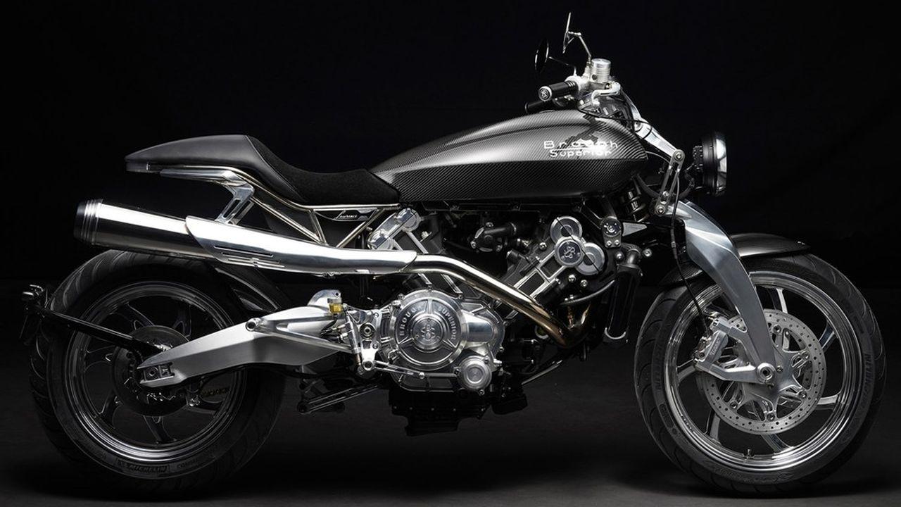 Brough Superior lance une moto de luxe française - Les Échos