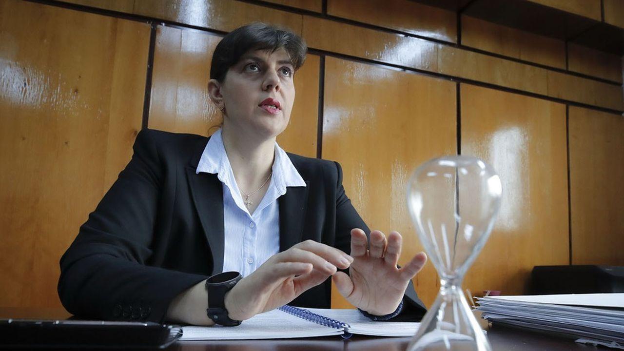 La Roumaine Laura Codruta Kövesi a été nommée cheffe du Parquet européen.