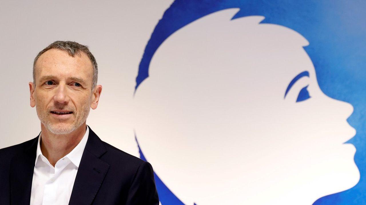 Emmanuel Faber dirige Danone depuis 2014