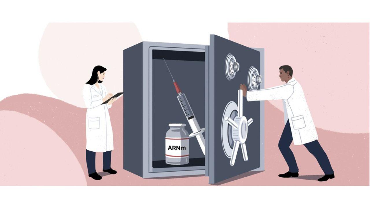Les laboratoires comme Moderna ayant misé sur des vaccins à ARN messager ont rapidement la tête de la course au vaccin, raflant au passage plusieurs milliards de dollars de commandes, mais en plus ils ont obtenu la preuve de l'efficacité de leur technologie