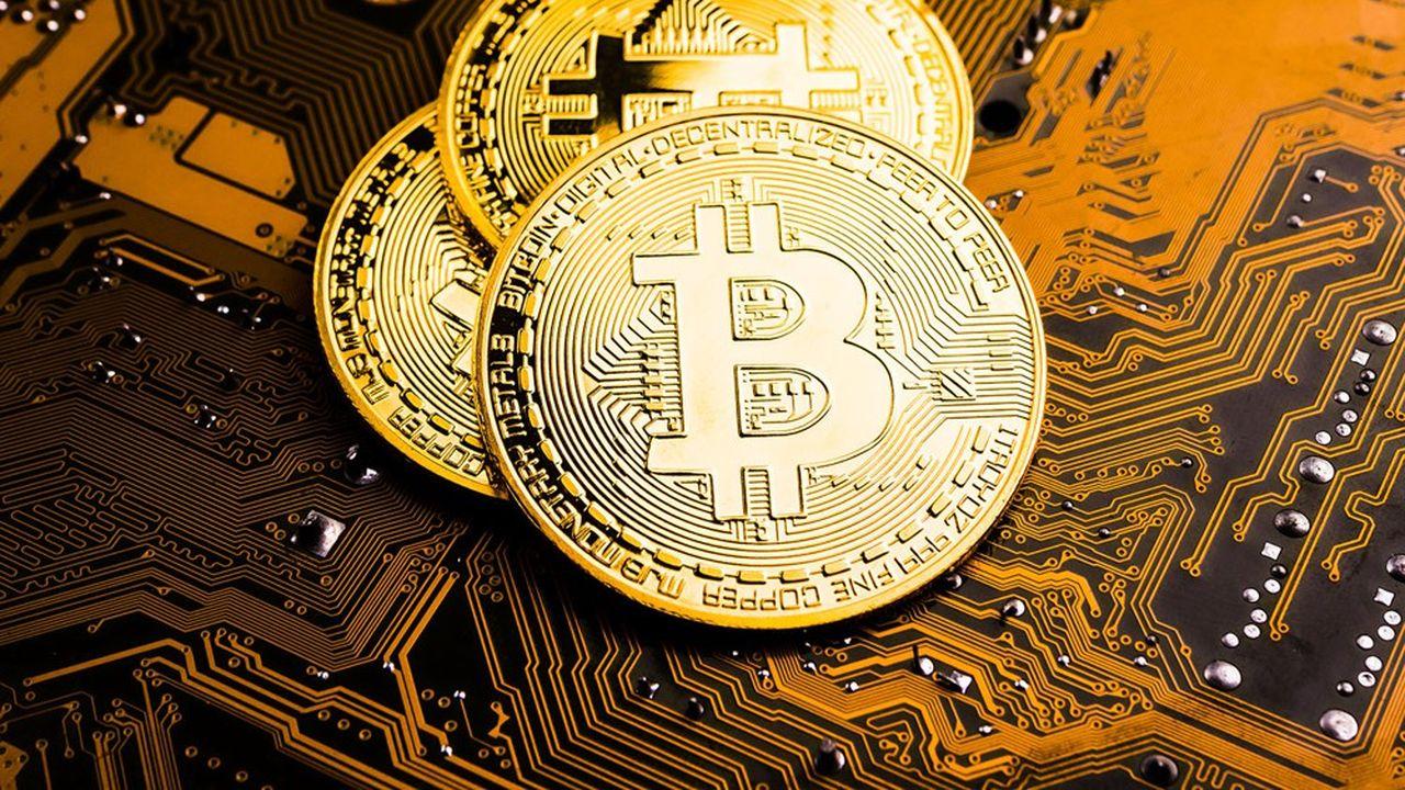 Goldman Sachs va se lancer dans le trading des cryptos et du bitcoin qui s'établit à 48.600dollars (40.400euros).