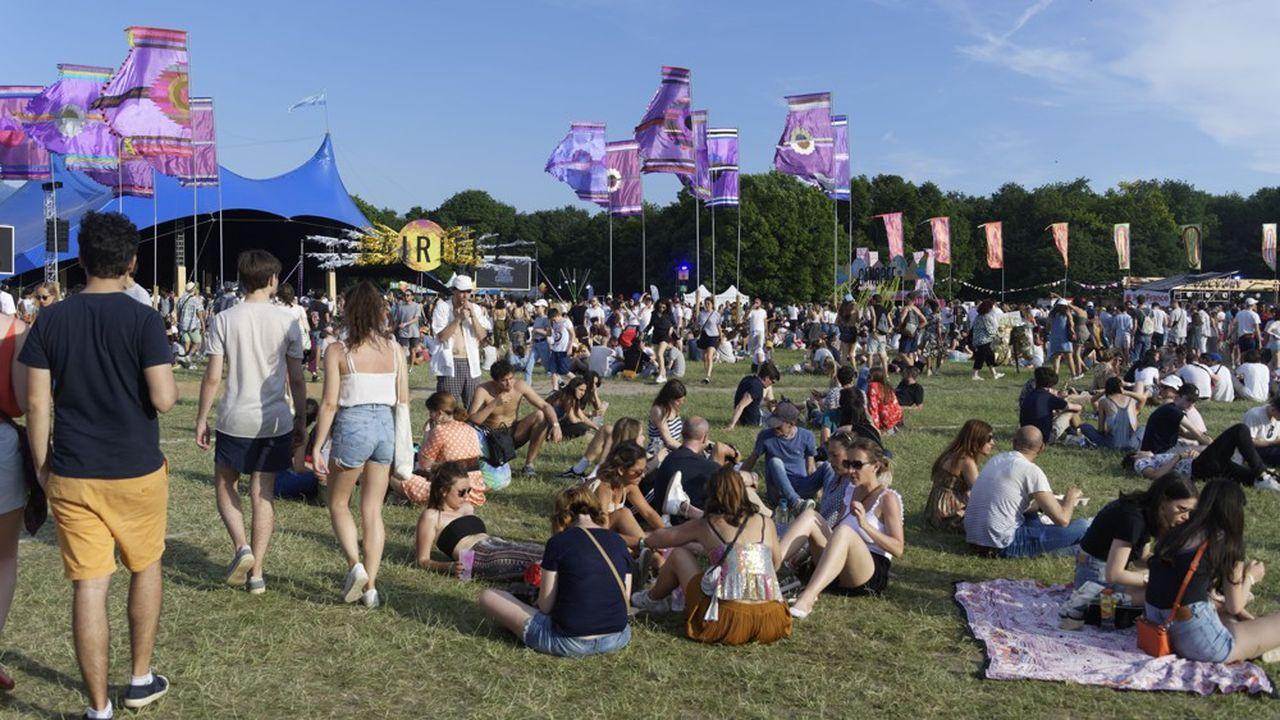 « We Love Green » sur la pelouse du Bois de Vincennes en 2019: 96% de ses festivaliers ne veulent pas d'une version sur des sièges.