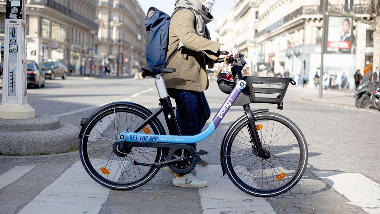 Les vélos commercialisés par Pony sont fournis par Zoov.