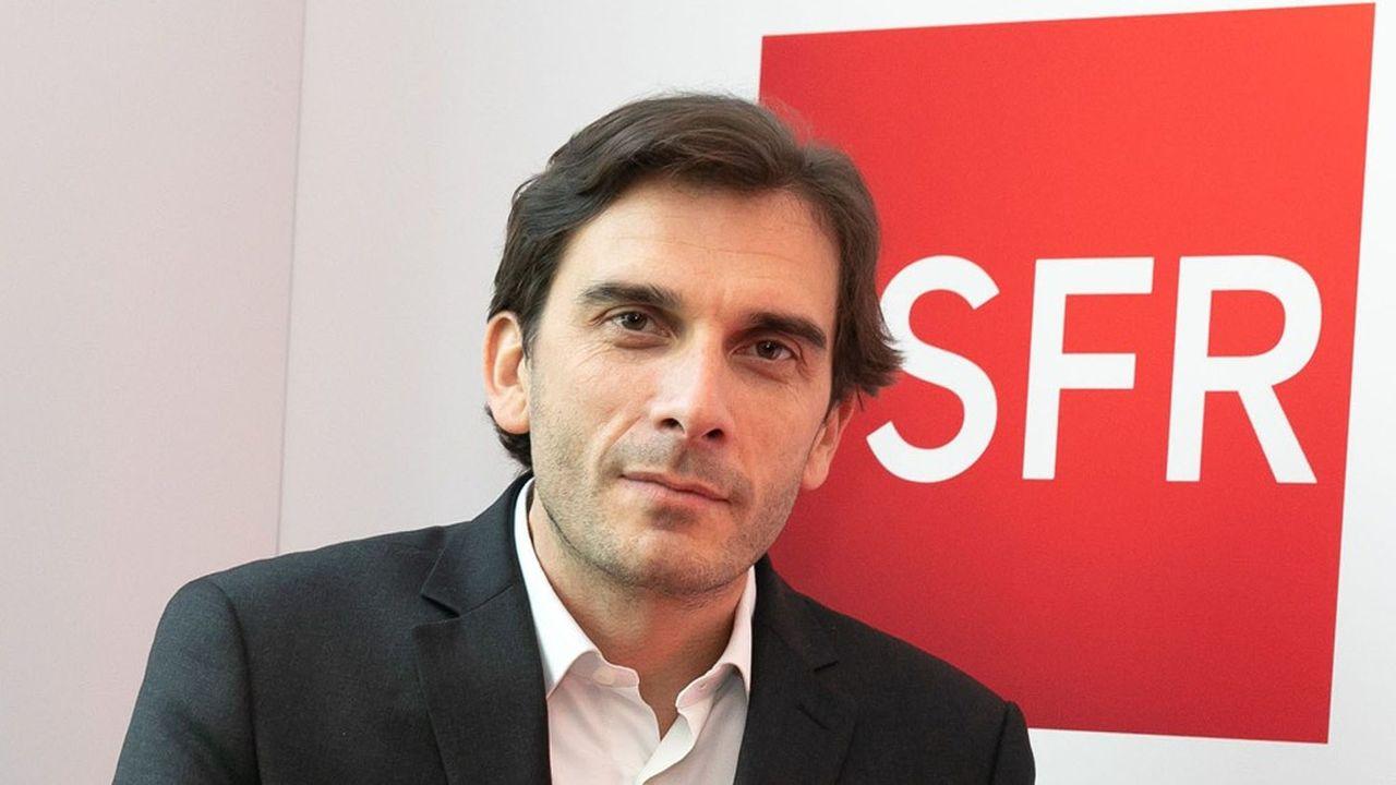 Grégory Rabuel, directeur général de SFR.