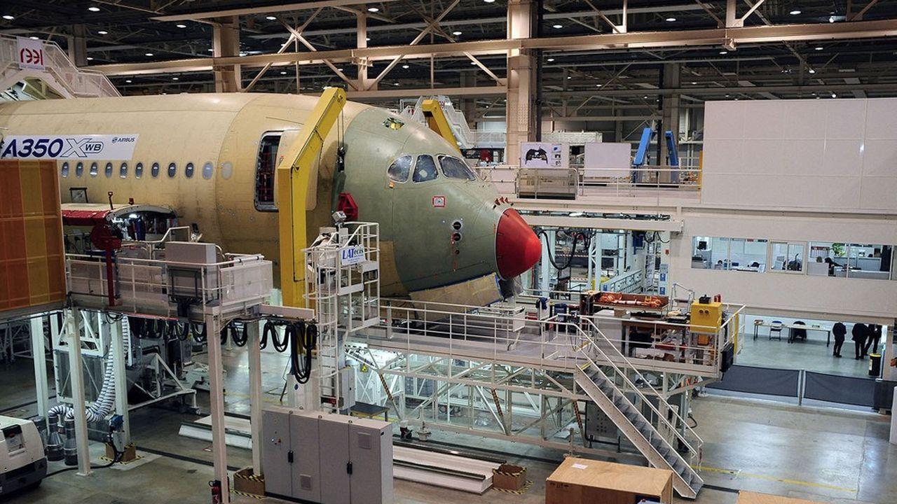 «Les exportations aéronautiques françaises ont plus baissé que celles de nos voisins», pointe Rexecode.