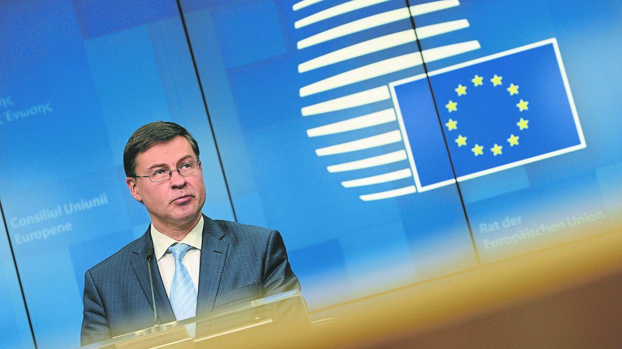 Valdis Dombrovskis, le vice-président exécutif de la Commission, estime que les subventions européennes vont jouer un rôle déterminant dans la sortie de crise.