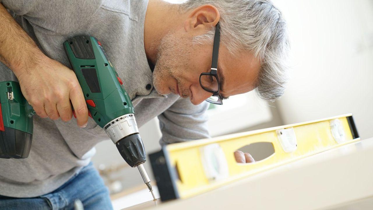 Le budget moyen annuel alloué au bricolage est de 681euros, selon l'étude.