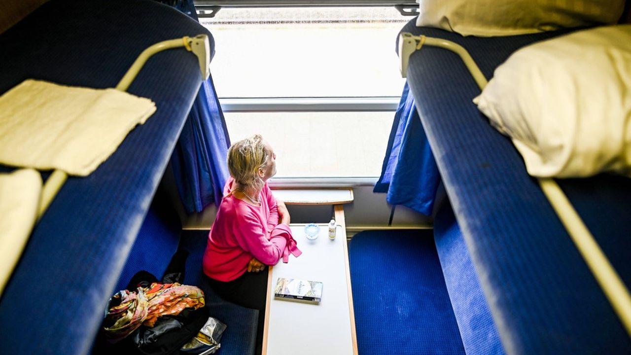 Le train de nuit reliant Paris à Saint-Gervais, à la gare du Fayet, a disparu en 2016.