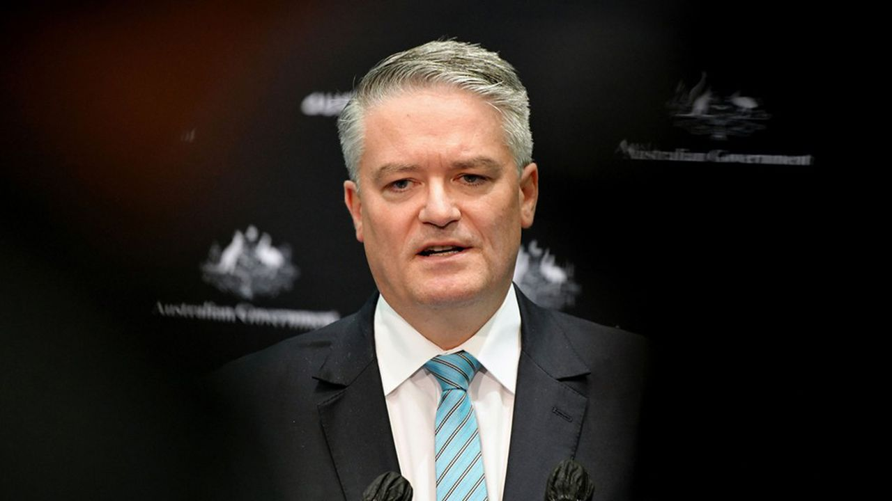 Mathias Cormann, ancien ministre des finances australien et candidat au secrétariat général de l'OCDE
