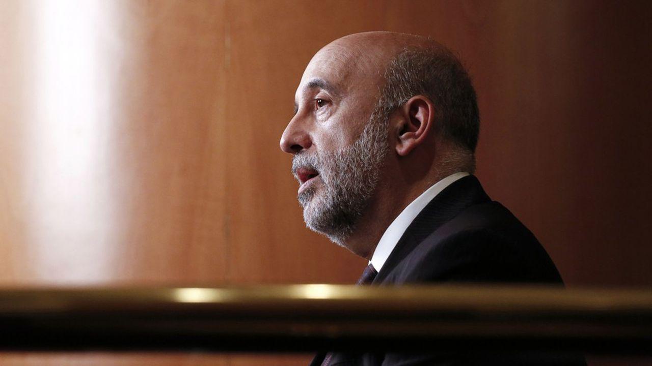 Gabriel Makhlouf, gouverneur de la Banque centrale d'Irlande.