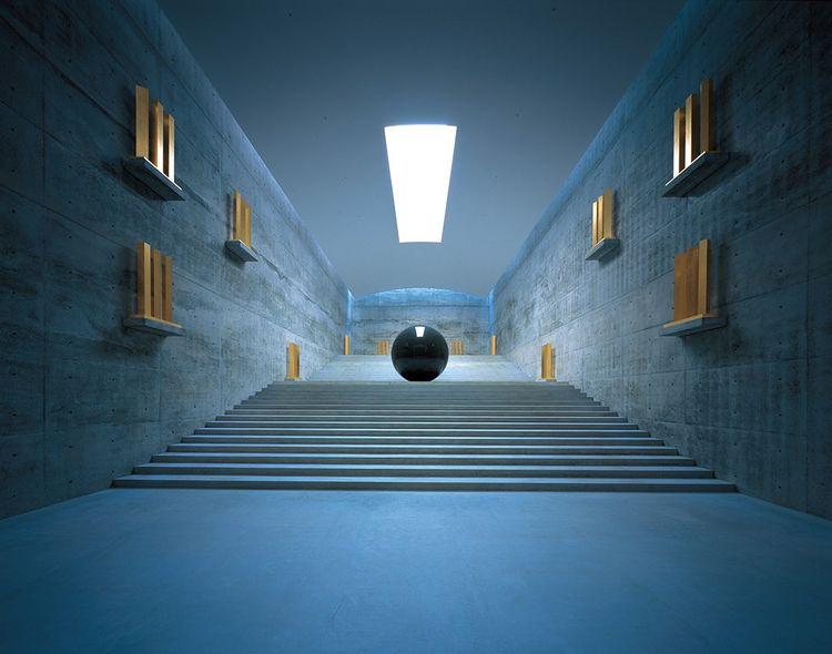Le Chichu Art Museum, à Naoshima (2004), pour lequel Tadao Ando s'est investi pendant plus de dix ans.