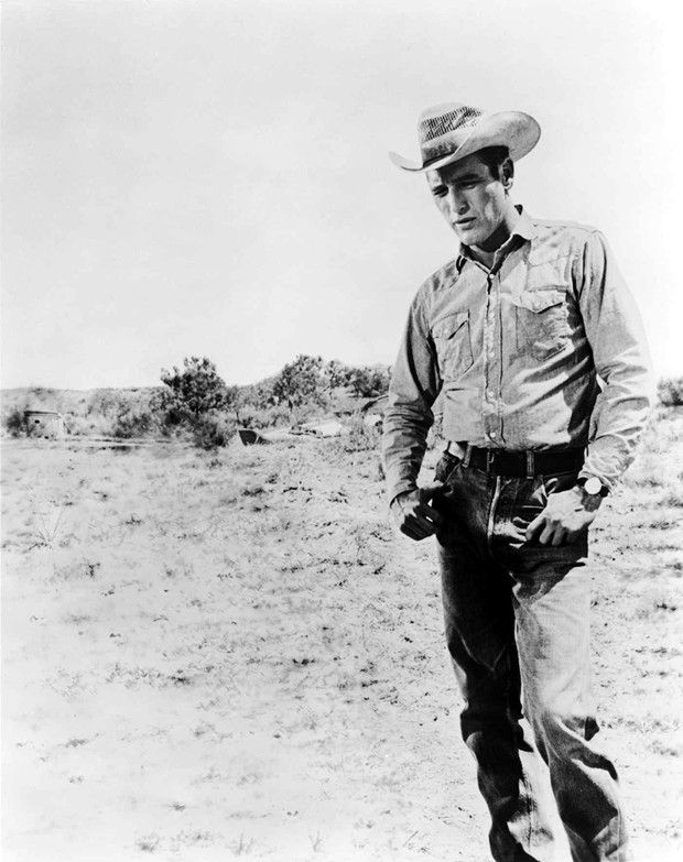 Paul Newman, dans « Le plus sauvage d'entre tous» (1963), une référence pour le styliste.